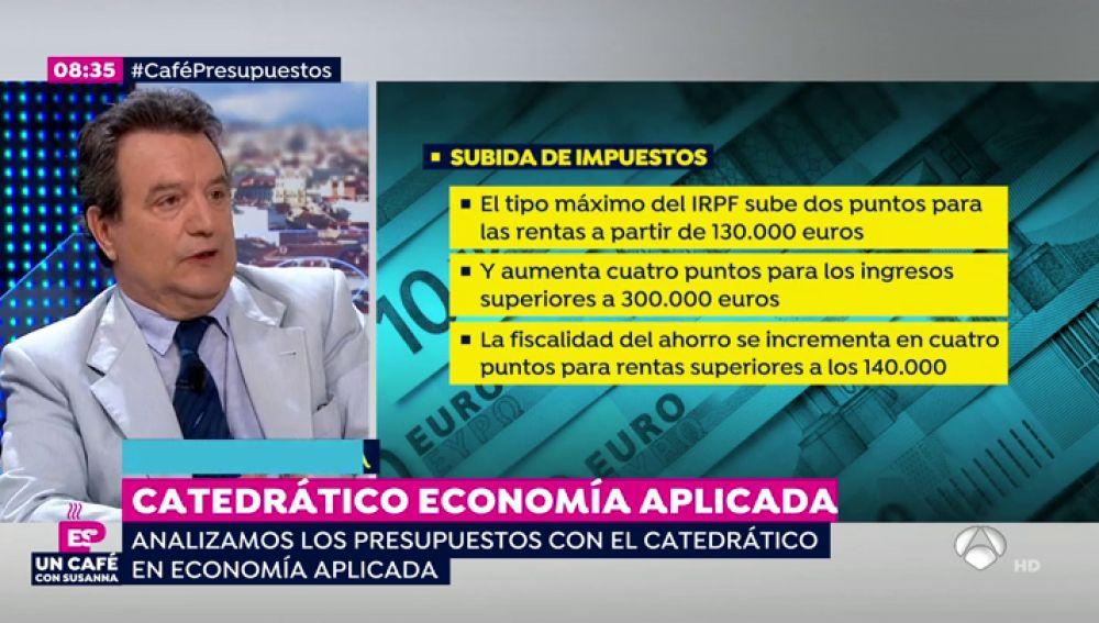 """Santos Ruesga: """"Los presupuestos no son tan apocalípticos pero tendrían que pensar más en fórmulas a futuro"""""""