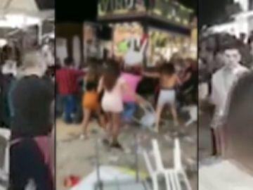 Pelea multitudinaria en la Feria de Jaén