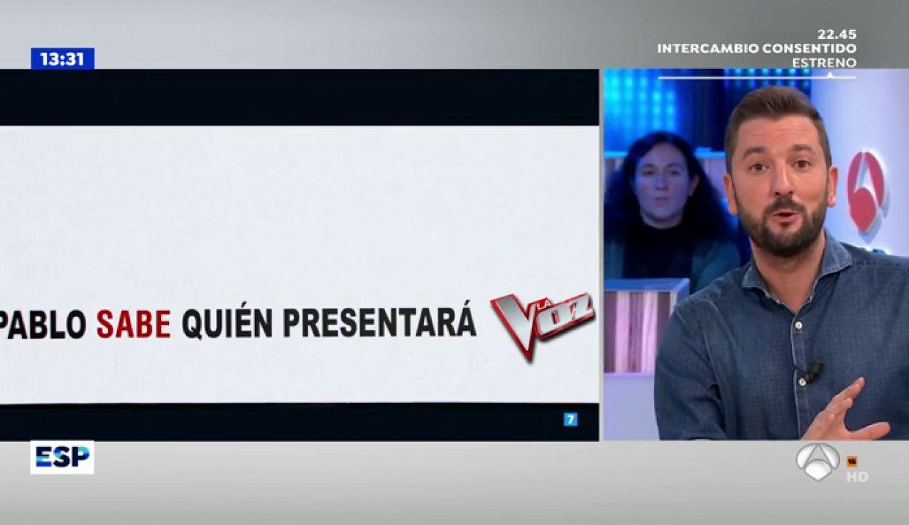 """Susanna Griso se 'enfada' con Pablo Motos: """"¿Él sabe quién va a presentar 'La Voz' y yo no lo sé?"""""""