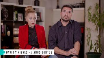 """Nieves: """"Nuestra relación empezó cuando me pusieron en una esquela como la pareja de David"""""""