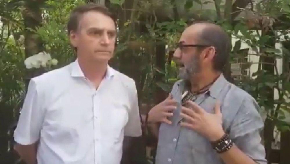 El candidato ultra Bolsonaro aparece ahora como amigo de los homosexuales