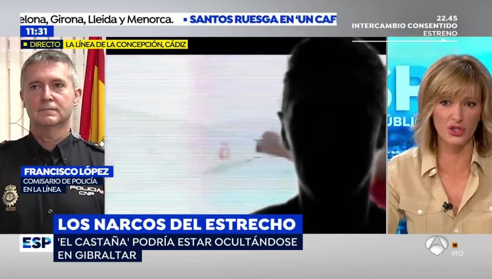 """Susanna Griso se refiere a un amigo del líder de 'los Castañas', el narco más buscado de España, como """"un tonto a las tres"""""""