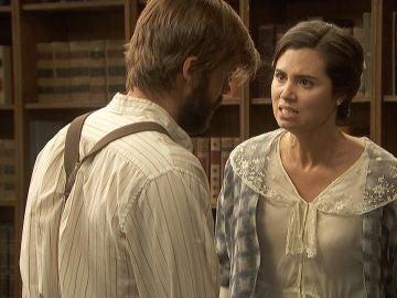 """María se enfrenta a Gonzalo: """"Eres un embustero y un desgraciado"""""""