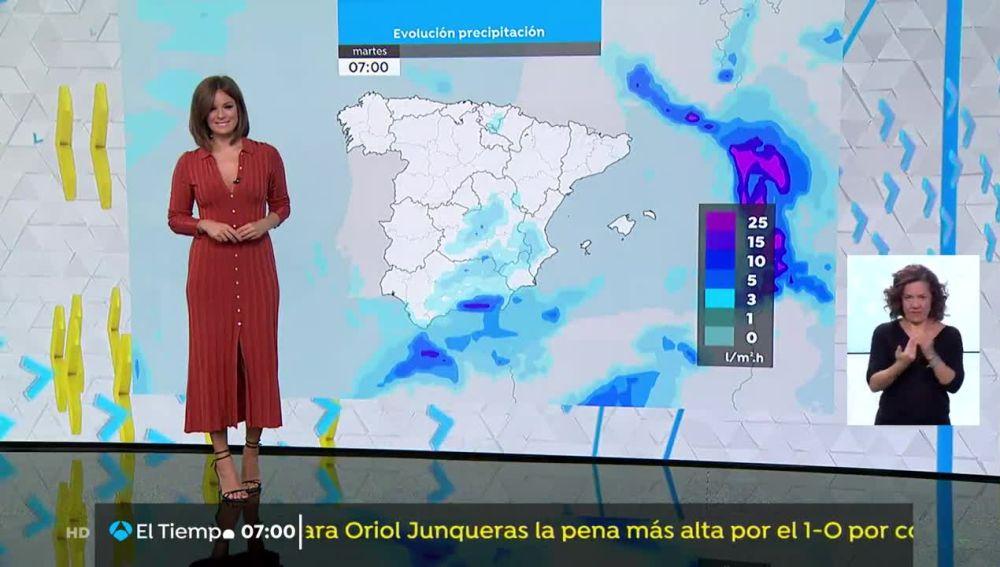 Temperaturas en aumento en Galicia y Asturias, y en descenso en el resto del país