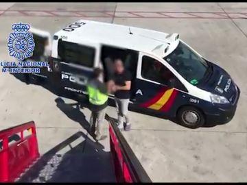 Detenido en un hotel de Madrid un narcotraficante colombiano que huyó de Canarias