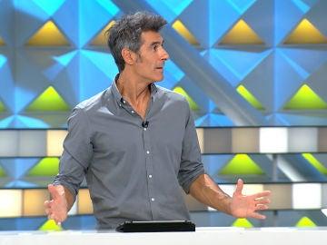 Jorge Fernández admite que se ha hecho mayor porque le apetece comer verduras
