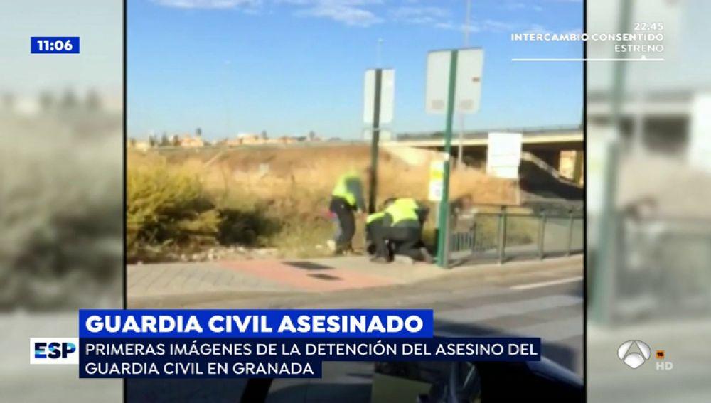 Así ha sido la detención del asesino del guardia civil en Granada