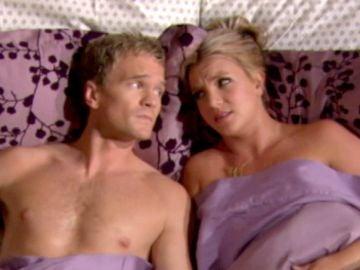 Neil Patrick Harris y Britney Spears en 'Cómo conocí a vuestra madre'