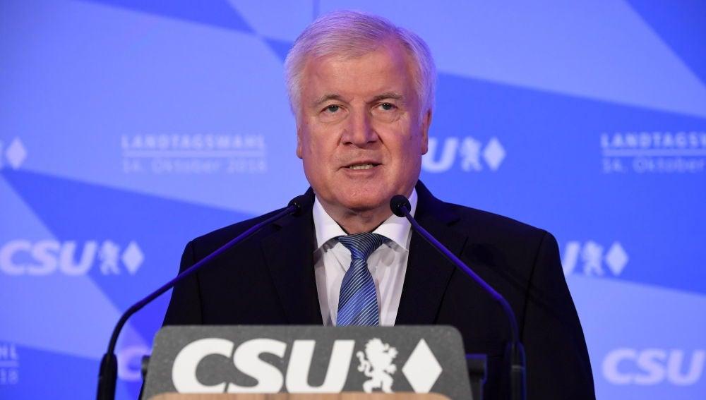 Horst Seehofer, ministro del Interior alemán y uno de los líderes del CSU