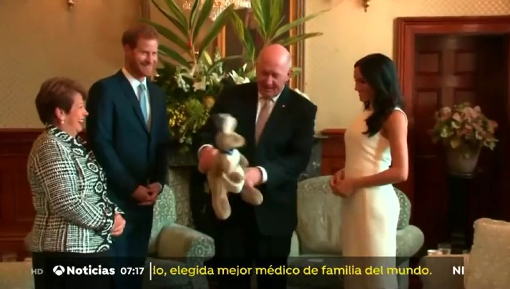 Australia da los primeros regalos a los duques de Sussex tras el anuncio de su embarazo