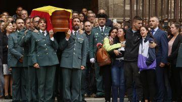 Funeral por guardia civil