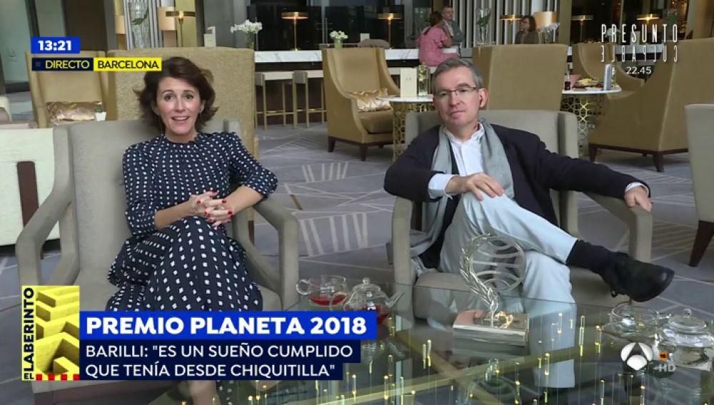 """Santiago Posteguillo, Premio Planeta 2018: """"Escribiendo sobre personajes femeninos que cambiaron el mundo también se construye igualdad"""""""