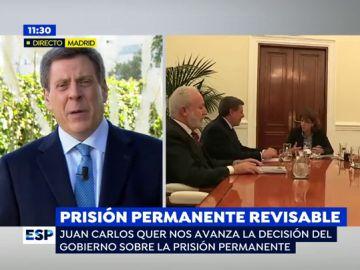 """Juan Carlos Quer consigue que el Gobierno no derogue la prisión permanente revisable: """"No son condenas inhumanas, hay personas inhumanas"""""""