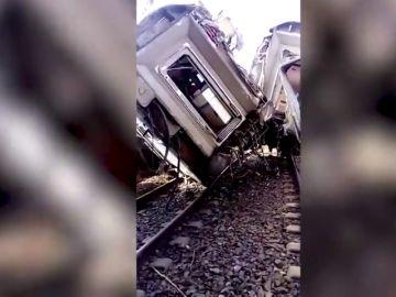 Descarrila un tren de pasajeros en Marruecos