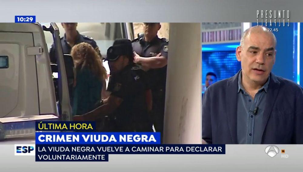"""La 'viuda negra de Alicante' acude andando al juzgado: """"Sé cuál es la casa del asesino y cuando el juez me deje libre voy a ir para hacer que se entregue"""""""