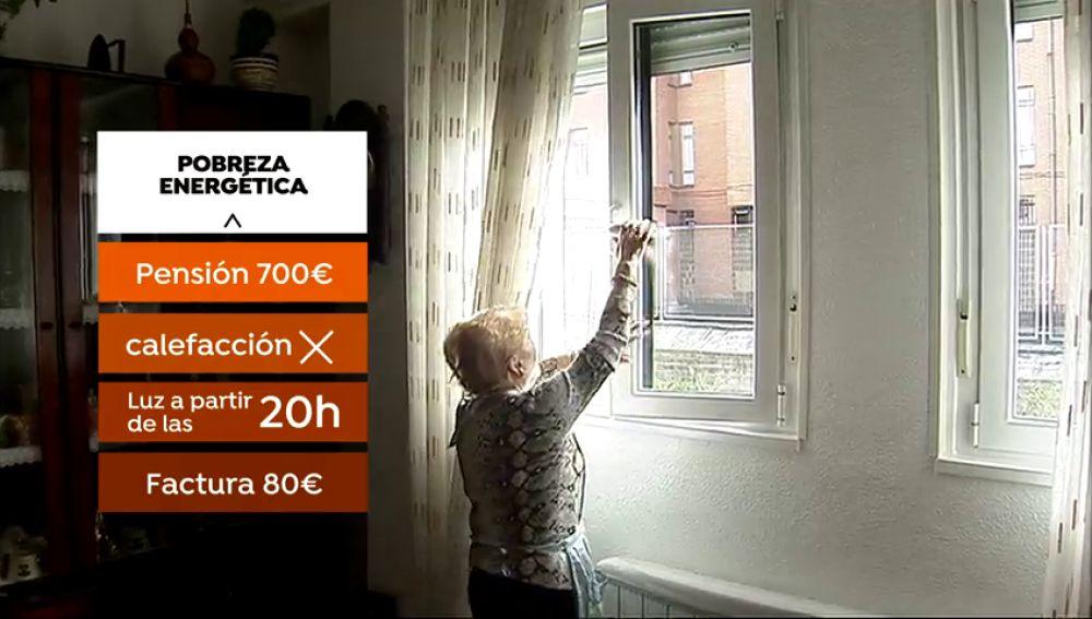 Un ocho por ciento de españoles en riesgo de pobreza energética