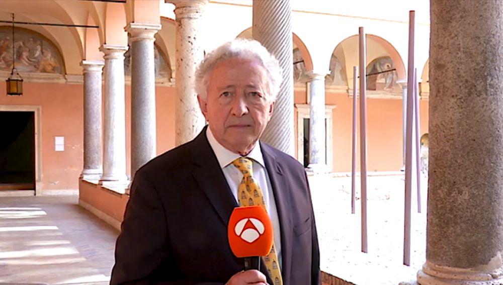 La visita de la Reina a la Real Academia de España en Roma