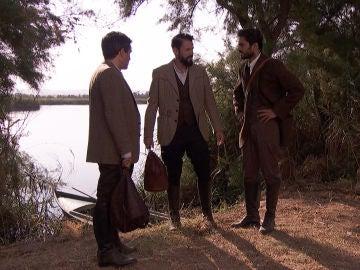 Carmelo, Saúl y Severo investigan el origen de la contaminación en Las Lagunas