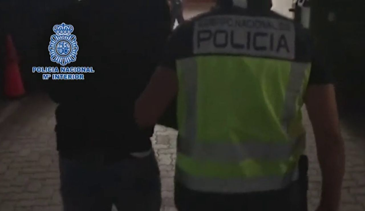 El narcotraficante Francisco Tejón, líder de 'Los Castañitas' se entrega en un restaurante de La Línea