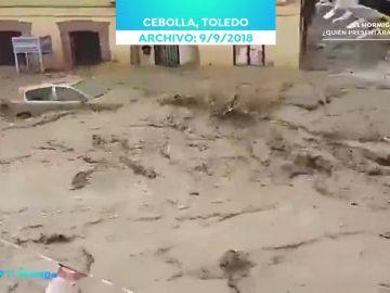 Los consejos de Roberto Brasero para actuar con el coche ante fuertes lluvias