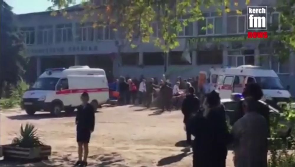 Una explosión en un instituto en Crimea deja al menos 13 muertos