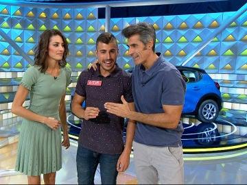 La desesperación de Jorge Fernández por un concursante que no sabe pronunciar el nombre de su equipo de fútbol