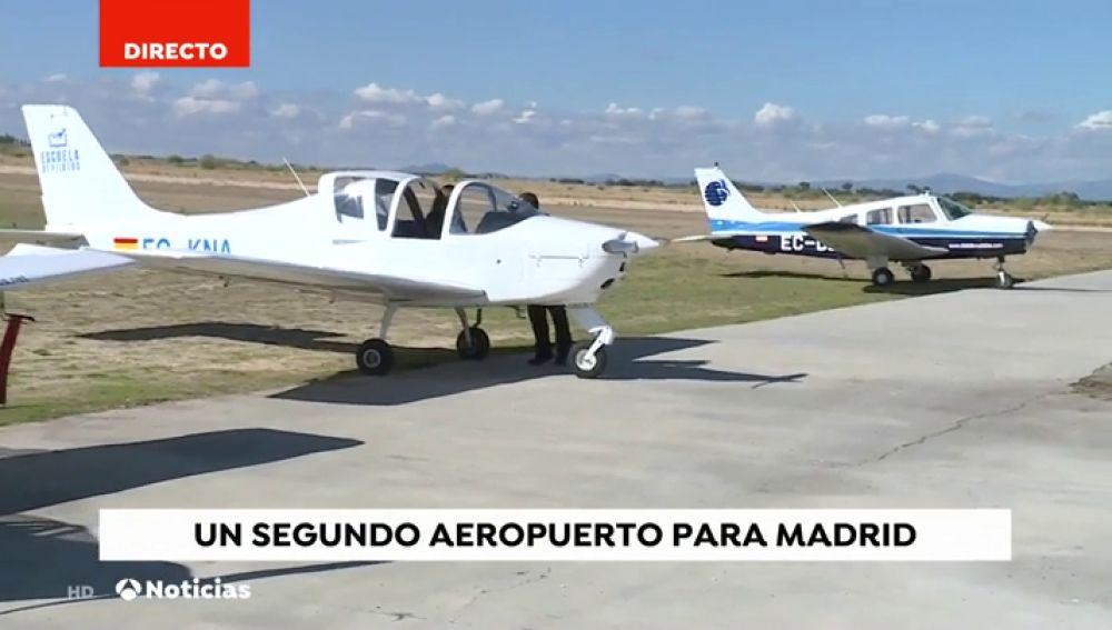 Un segundo aeropuerto para la Comunidad de Madrid destinado a las compañías de 'low cost'