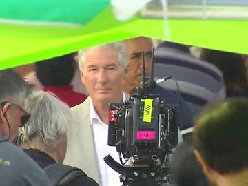 Richard Gere rueda en Sevilla una serie para la BBC