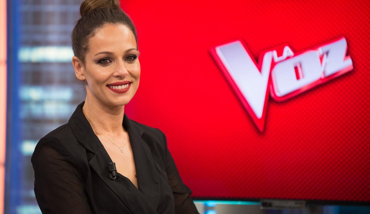 Eva González presentadora de 'La Voz'