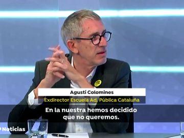 """Agustí Colomines: """"En todas las independencias ha habido muertos, pero si decides que no quieres, tardas más"""""""