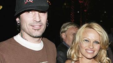 Tommy Lee y Pamela Anderson