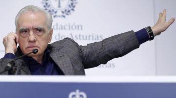 El director, guionista, actor y productor estadounidense Martin Scorsese
