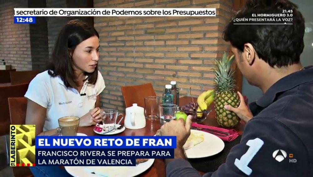 """El duro esfuerzo que hace Fran Rivera para la maratón de Valencia: """"Me gusta toda la comida que me quita la nutricionista"""""""