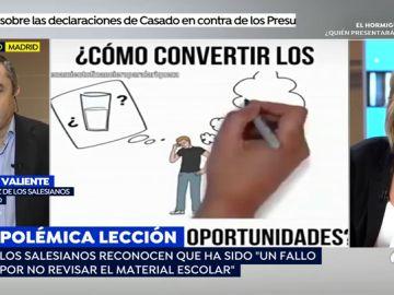 """El colegio Salesianos de Madrid acepta el error de haber enseñado a sus alumnos el polémico vídeo: """"Siempre se revisa el material, pero esta vez no fue así"""""""