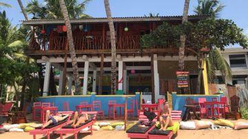 Hotel Lucky Beach Tangalle en Sri Lanka