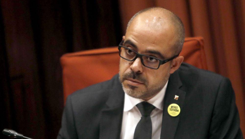 El conseller de Interior, Miquel Buch