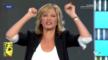 """Susanna Griso hace dudar a los colaboradores con el nombre del presentador de 'La Voz': """"Os tengo engañados a todos"""""""