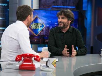 """Jordi Évole, en 'El Hormiguero 3.0': """"Me decepcionaría que Villarejo no estuviera grabando este programa"""""""