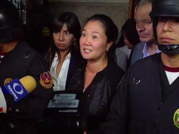 Keiko Fujimori queda en libertad tras 8 días detenida