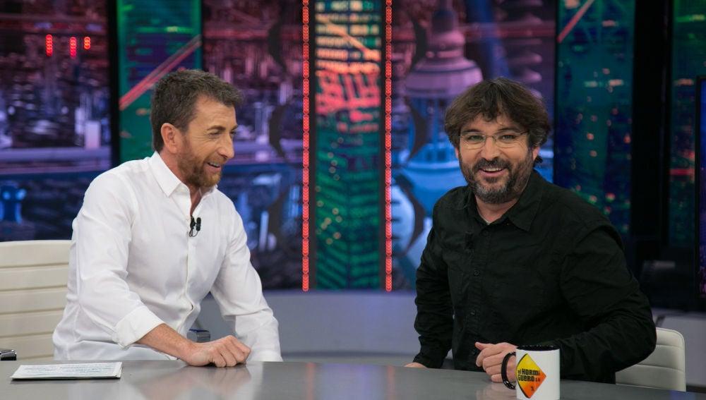 """Jordi Évole asegura en 'El Hormiguero 3.0' que parece que los discursos de Pablo Casado los escribe Maluma: """"Es todo muy extremo"""""""
