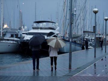 Lluvia en Mallorca