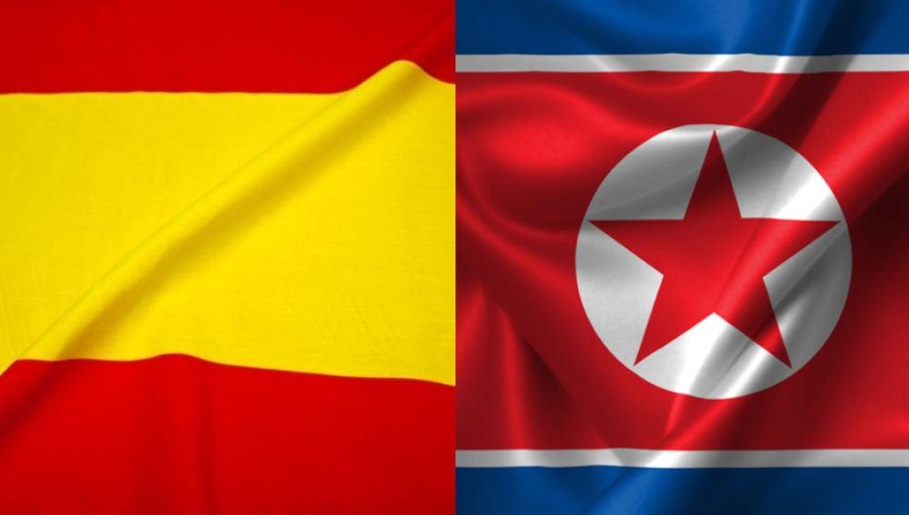 España y Corea del Norte