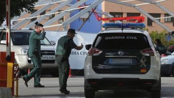 Vista de la comandancia de la Guardia Civil en Granada