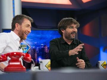"""Jordi Évole, en 'El Hormiguero 3.0': """"Pedro Sánchez tiene un documental, una serie para Netflix"""""""