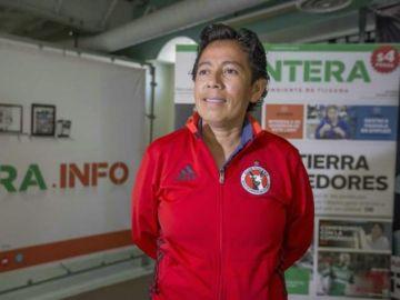 Marbella Ibarra, impulsora del fútbol femenino en México