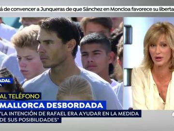 """Toni Nadal: """"No es correcto decir que Rafa Nadal es una de las personas que más ha ayudado en las inundaciones"""""""