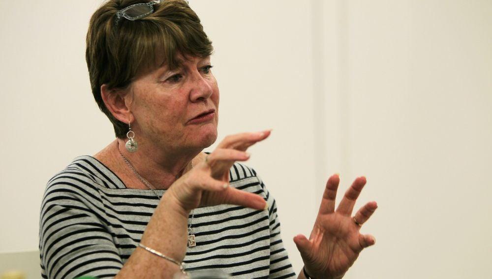 La periodista y escritora Fiona Barton