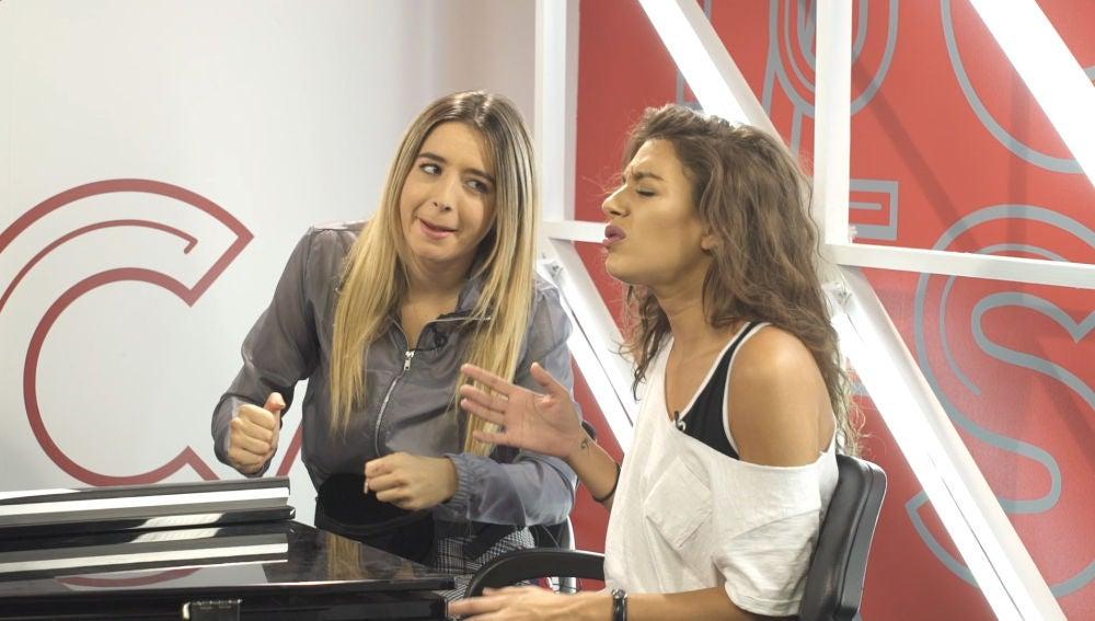 El lío de Ana Guerra en los ensayos junto a Mimi para dar vida a 'Sin Pijama'