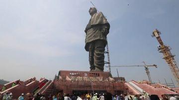 India finaliza la construcción de la estatua más grande del mundo