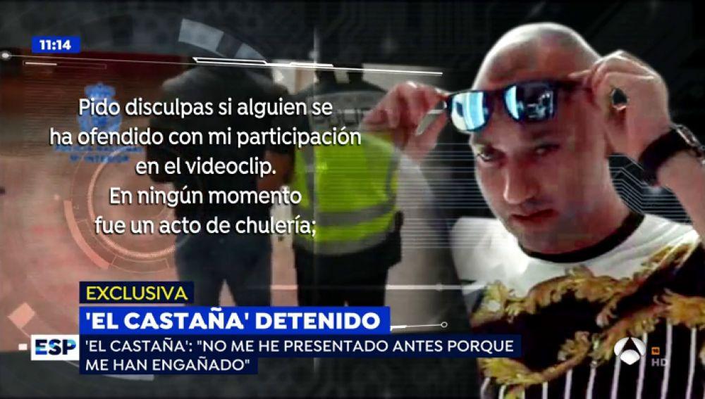 """'El Castaña' explica los motivos de su entrega voluntaria: """"Me mintieron prometiéndome que iban a solucionar mi situación penitenciaria y asumí que tenía que entregarme"""""""